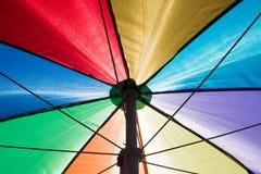 Colore dell'ombrello Fotografie Stock