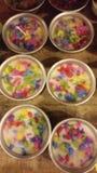 Colore della candela fotografia stock