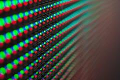 Colore della luce dallo schermo principale immagini stock libere da diritti