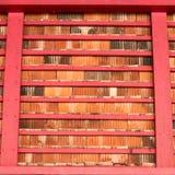 Colore della miscela del tetto di vecchio tempio Fotografia Stock
