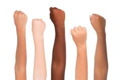 Colore della pelle Fotografia Stock Libera da Diritti
