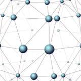 Colore della rete di comunicazione Illustrazione di Stock