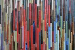 Colore della schiera delle mattonelle Immagini Stock