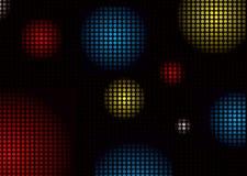 Colore delle sfere della discoteca Fotografia Stock