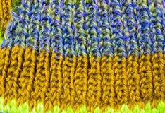 colore on des amorçages de texture de laine Images libres de droits