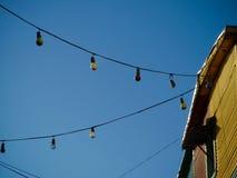 Colore des ampoules Photos libres de droits