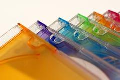 Colore des cd´s Photo stock