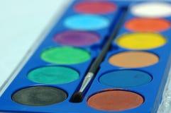 Colore di acqua immagini stock libere da diritti