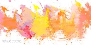 Colore di acqua Immagine Stock