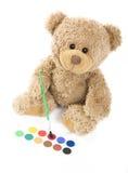 Colore di acqua e dell'orso Immagini Stock Libere da Diritti