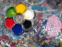 Colore di arte Fotografia Stock