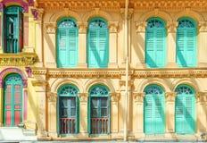 Colore di bianco della porta e della finestra Immagini Stock Libere da Diritti