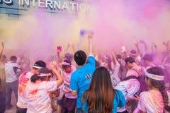 Colore di Chongqing Exhibition Center fatto funzionare in giovani Immagini Stock