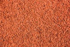 Colore di gomma dell'arancia del pavimento Fotografia Stock Libera da Diritti