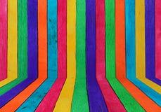 Colore di legno strutturato Fotografia Stock Libera da Diritti
