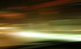 Colore di luce notturna della via Fotografia Stock