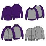 Colore di maglie con cappuccio 3 Fotografie Stock Libere da Diritti