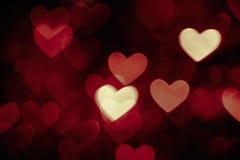 Colore di marrone scuro della foto del fondo del cuore fotografie stock libere da diritti