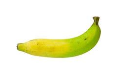Colore di tono due della banana tailandese cruda isolata su fondo bianco Fotografia Stock Libera da Diritti