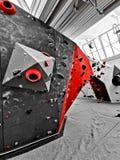 Colore dominante su una parete di Boulder immagine stock libera da diritti