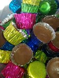 Colore e cioccolato Fotografia Stock Libera da Diritti