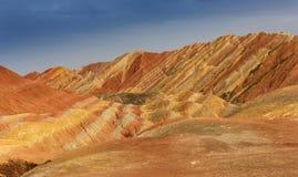 Colore Geopark Fotografia Stock Libera da Diritti