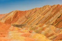 Colore Geopark Fotografia Stock
