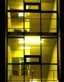 Colore giallo Fotografia Stock