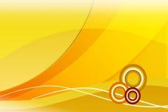 Colore giallo Immagine Stock