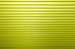 Colore giallo dei tessuti ondulati astratti del fondo 3D Fotografia Stock