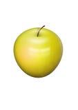 Colore giallo del Apple Fotografie Stock Libere da Diritti