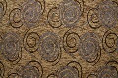 Colore giallo del leone di Anemon 131 di struttura del tessuto di tessuto Fotografia Stock