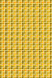 Colore giallo del Tartan Fotografia Stock