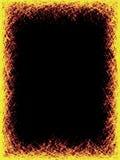 Colore giallo della graffiatura Fotografie Stock Libere da Diritti