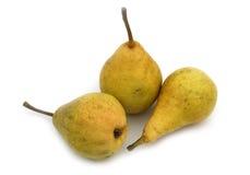 Colore giallo della pera Immagini Stock Libere da Diritti