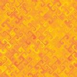 Colore giallo di Orangey Fotografia Stock
