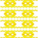 Colore giallo di Wallper Fotografie Stock Libere da Diritti
