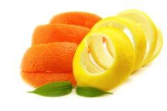 Colore giallo ed arancio Immagine Stock