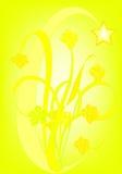 Colore giallo pieno Fotografia Stock Libera da Diritti
