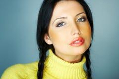 Colore giallo uno Fotografia Stock Libera da Diritti