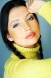 Colore giallo uno Fotografia Stock