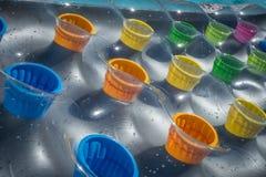 Colore gonfiabile di Lilo multi Immagine Stock Libera da Diritti