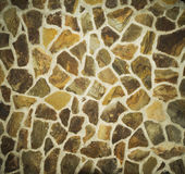 Colore grigio del modello della superficie reale incrinata irregolare decorativa della parete di pietra di progettazione moderna  Fotografie Stock