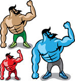 Colore Hulk illustrazione di stock