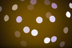 Colore leggero di Bokeh fotografie stock libere da diritti