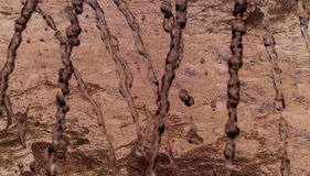 Colore marrone astratto Fotografia Stock