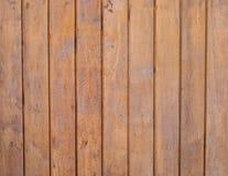 Colore marrone chiaro di struttura di legno verticale, fondo del bordo fotografie stock