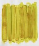 Colore marrone giallo verniciato astratto su tela di canapa illustrazione vettoriale