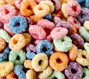 Colore o cereal Fotografia de Stock Royalty Free