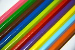 Colore o crayonn Fotografia de Stock Royalty Free